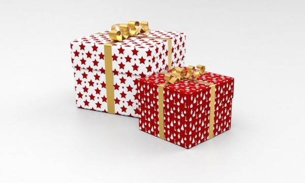 present, package, gift